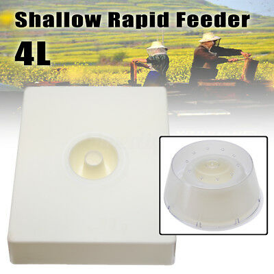 4 litres (8 pints) Bee Entrance Hive Beekeeping Shallow Rapid Feeder Tools