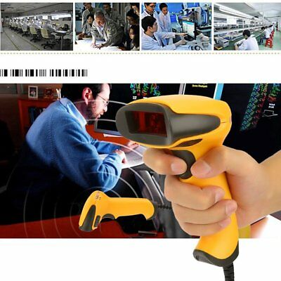 Handheld Wired USB 2D QR Code Mobile Phone Screen Imager Barcode Scanner Reader