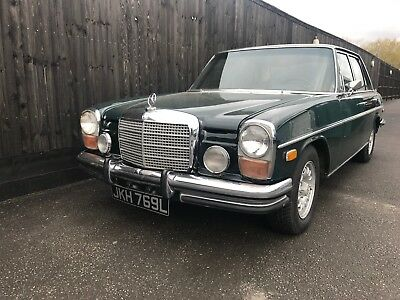 Mercedes Benz 280 W114 Only 59000 Miles Original Car Classic Mercedes 1972 Lhd