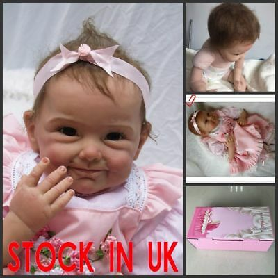 22Inch Vinyl Silicone Reborn Doll Real Life LIKE Looking Newborn Wborn Gift DOLL