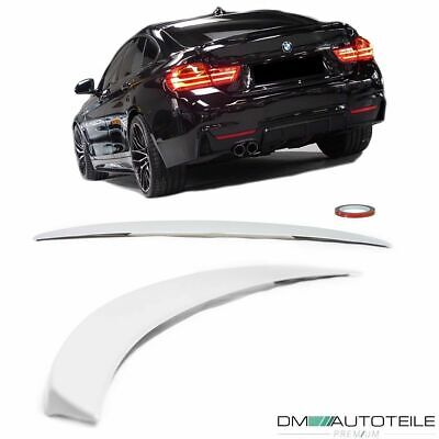 Sport-PERFORMANCE Rear Trunk Spoiler Lip Roof primed Grey fits BMW 4-Series F36