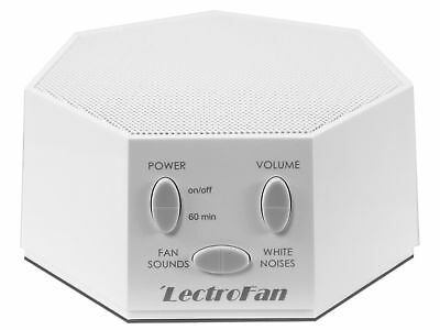 NEW LectroFan High Fidelity White Noise Machine with 20 Unique Non-Looping Fan
