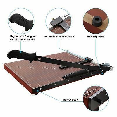 New Wooden Professional Office Home A2-B7 Paper Desk Tops Paper Cutter VILR