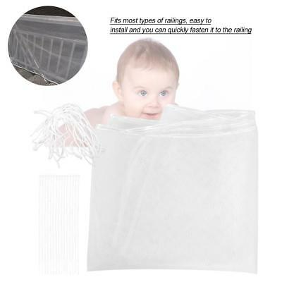Baby Children Safety Thicken Fence Net Home Balcony Stairs Railing Protector Mes