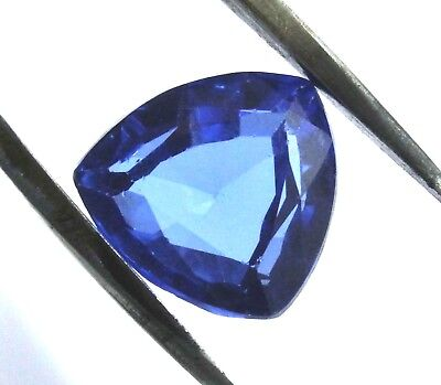 8.75 Ct Natural Trillion Cut Transparent Ocean Blue Aquamarine Gem Ggl Certified