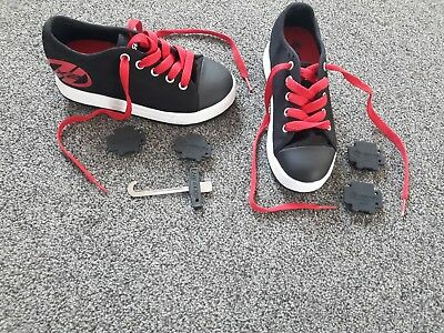 Heelys Red and Black Size 13