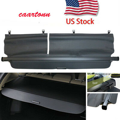 Rear Trunk Black Cover for 2010-2015 Lexus RX Rx350 Rx450H Security Cargo Shade