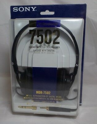 57080a309d5 SONY MDR7502 PROFESSIONAL Studio Headphones (MDR-7502) - $119.99 ...