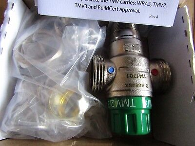 Reliance Brass Ausimix Thermostatic Mixing Valve, 22mm - H9554 7948479