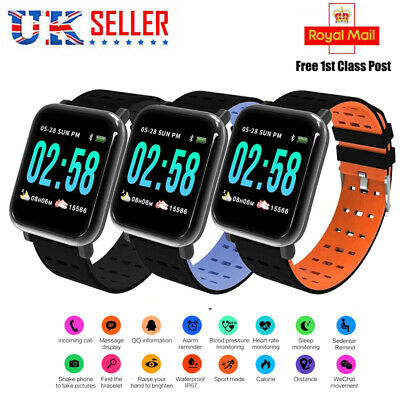 Fitness Smart Watch Activity Tracker Women Men Kids Android iOS  Fit*bit Style