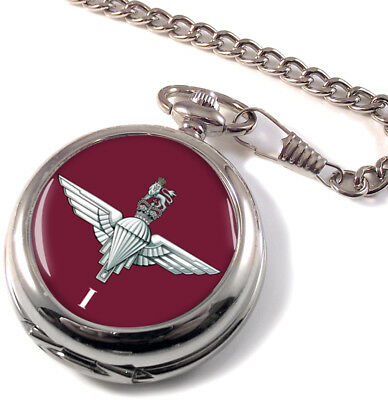 2nd Bataillon Régiment Parachute Montre De Poche Chasseur Intégrale Pocket Watches