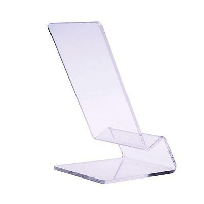 Clear Acrylic Transparent Mobile Phone Display Stand Mount Holder Rack Bracket U