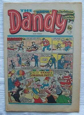 DANDY  CHRISTMAS  NUMBER   25th DECEMBER1976 – VF++