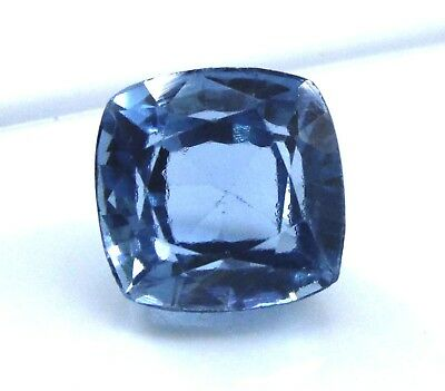 9.80 Ct Natural Cushion Cut Transparent Ocean Blue Aquamarine Gem Ggl Certified