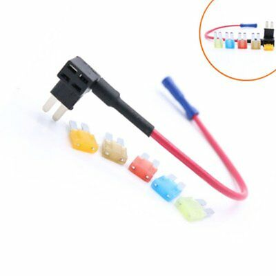 5pcs ADD-A-CIRCUIT BLADE STYLE ATR MICRO 2 HOLDER FUSE TAP + MICRO2 FUSE SET NP