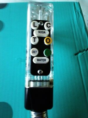 Wunderbar  8  Button  Bar Hose Soft Drink Dispenser With Fittings