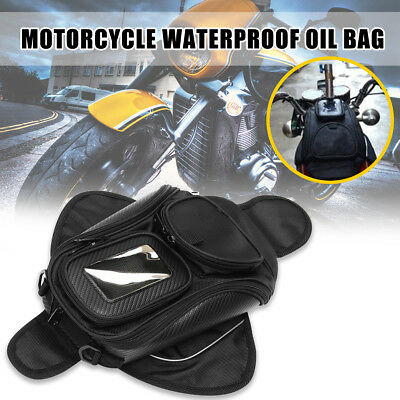 Universal Waterproof Magnetic Motorcycle Motorbike Oil Fuel Tank Bag Luggage