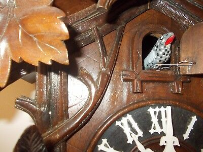 Very Large Antique Cuckoo Clock (C1900)