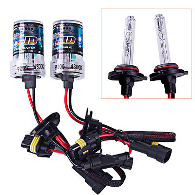 2pcs hid bixenon xenon kit bulb 35w 4300k 6000k H1 H7 9005 styling Car li M&R