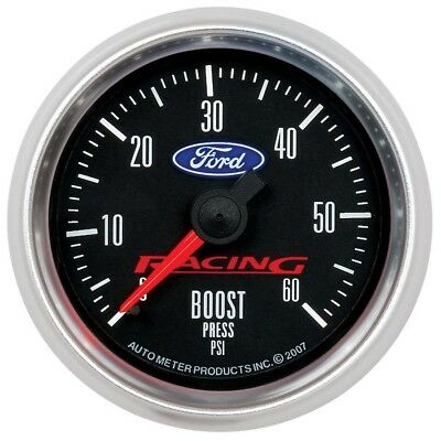 Auto Meter 2-1/16 Gauge Boost 60psi Ford Racing Series