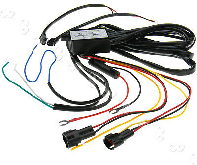 Dc 12v Led Drl Fog Light Canbus Load Resistor Wiring Harness Decoder