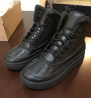 649a0f7285fb74 Nike Woodside 2 High Boots Shoes New Youth Size 4.5 Y GS 524872 001 Black