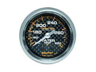 Auto Meter C/F 2-1/16in Water Temp. Gauge 140-280
