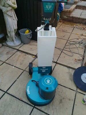 Truvox trophy 200 rotary cleaner with tank and pads