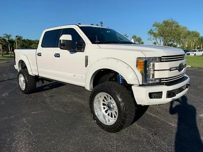 """2017 Ford F-350 Custom 2017 Ford F-350 Lifted 6"""" King Suspension Leather 22"""" Fuel Forged Rims 37"""" tires"""