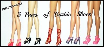 New 3 sets of Barbie doll shoes QUALITY SHOES.