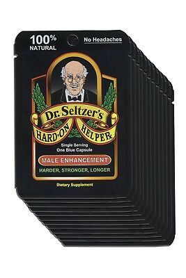 12 Pack of Dr. Seltzer's Hard-On Helper. Best Price Direct from Manufacturer.