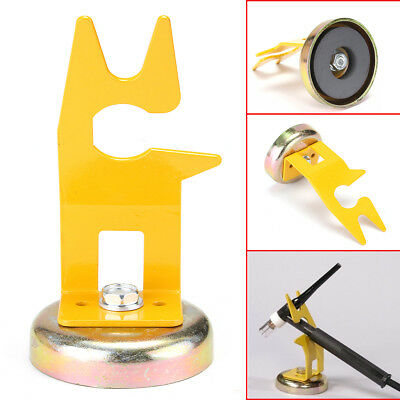 Welding Torch Holder TIG / MIG-MAG w/ Magnetic Stand - For Collet Tungsten Cup