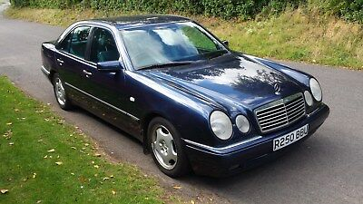 1998 Mercedes Benz E Class  E240 Avantgarde Auto, Genuine 119K...with Fsh