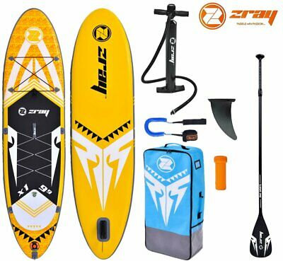 ZRAY X-RIDER X1 9.9 SUP Board Stand Up Paddle Surf-Board Paddel Leash