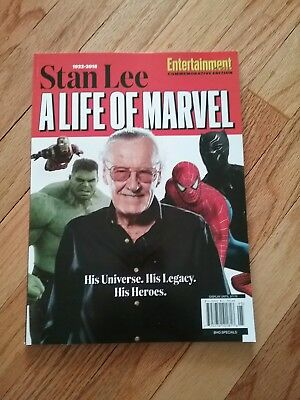 Entertainment Weekly Collectors 2018, Stan Lee, A Life Of Marvel, NEW BOOK
