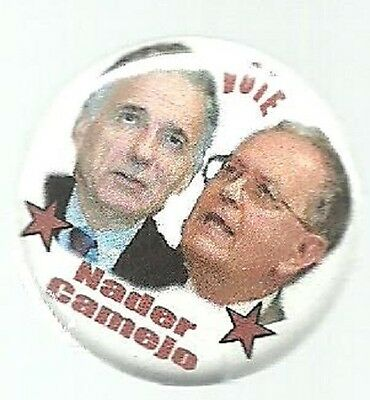 Ralph Nader, Camejo Smaller Size Third Party Political Campaign Pin