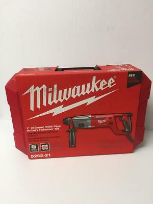 "Milwaukee 5262-21 1"" SDS Plus Rotary Hammer Kit.  New in packaging.  Ships Free."