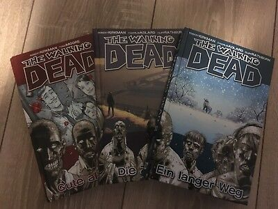 The walking Dead Comic 1 Bis 3 ( Neuwertig)