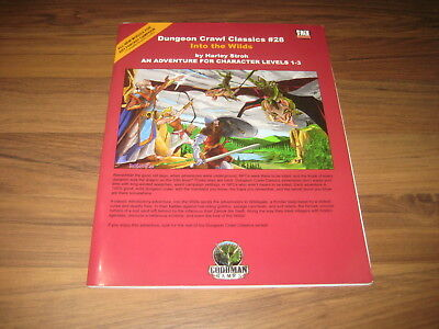 DCC Dungeon Crawl Classics #28 Into the Wilds SC 2006 Goodman Games VG