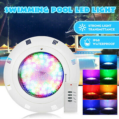 18-72W Swimming Pool LED Light RGB + Controller- Bright Different Colours