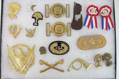 Large Lot of Vintage Reproduction Civil War Memorabilia Badges