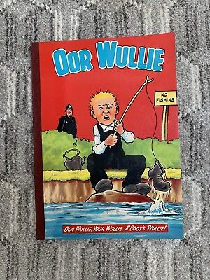Vintage Oor Wullie Annual 1980, Very good condition