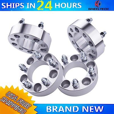 4 PCS 5x5.5 Fit 1991-1996 Ford F150 1.5 inch Wheel Spacers