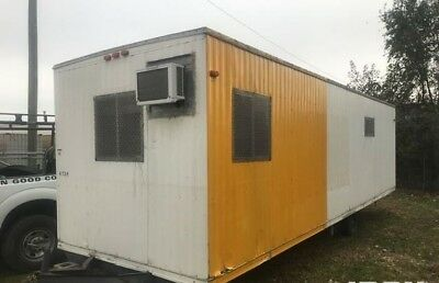 32' x 8' Mobile Modular Construction site Office Trailer