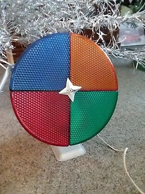 Color Wheel For Christmas Tree.Vintage Penetray Motorized Color Wheel For Aluminum Christmas Tree W Box Works