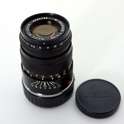 Leitz M-Rokkor 90mm f4 Prime Lens For Leica M Mount