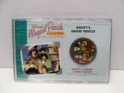 Disney Magical Parade Limited Edition Goofy's Safari Vehicle Collection NEW