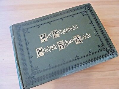 Worldwide Early Stamp Collection Antique/old Time 1887 'permanent' Album-147Pics