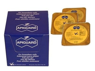 APIGUARD SUPER Traitement BIO VarroaDestructor. Pack Traitement 10 Ruches.