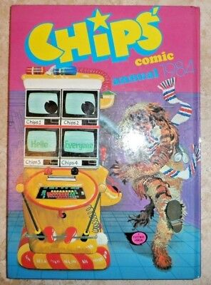 Chips Comic Annual 1984, , Good Condition Book